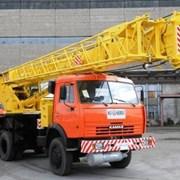 Аренда автокрана 35 тонн, стрела 30 метров. фото