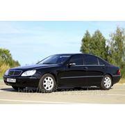 Аренда, заказ, прокат автомобиля Mercedes-Benz S W 220 lonf фото