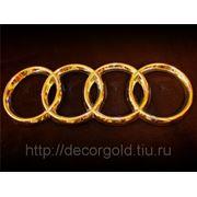 Нанесение золота высокой пробы 24kt/999