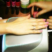 Покрытие ногтей гель-лаком фото