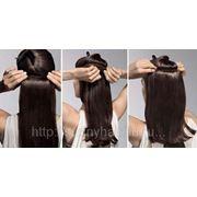 Холодное наращивание натуральных волос (на тресс) фото