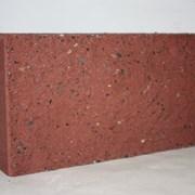 Блок сплитерный декоративный «BESSER» красный фото