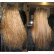 Кератиновое выпрямление,востановление волос фото
