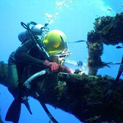 Подводно-технические, водолазные работы фото