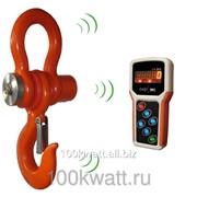 Промышленные крановые весы ВЭК-Д-10000 c индикацией на пульте фото