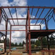Металлический каркас здания фото