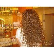 Химическая завивка длинные волосы фото