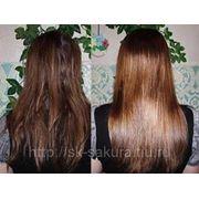 Глазирование волос фото