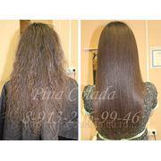 Бразильское кератиновое выпрямление( восстановление)волос фото