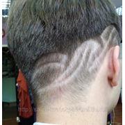 Узоры рисунки на волосах фото