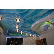 Натяжные потолки 3д - обучение фото
