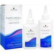 Комплект для химической завивки 3 Natural Styling Glamour Wave 180мл фото