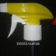 Триггер-курковый распылитель (белый с желтым) на головину BPF-28 фото
