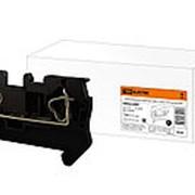 Зажим клеммный безвинтовой (ЗКБ) 1,5 мм2 17,5А черный TDM фото