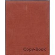 Тетрадь общая 80л. экокожа Вивелла коричневая А5 Арт.1111-623 фото
