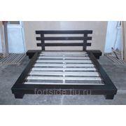 Кровати из натурального дерева на заказ фото