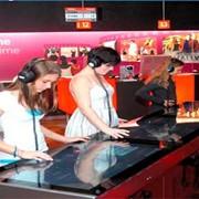 Сенсорный мультимедийный стол для медиа/видео магазинов фото