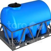 Пластиковая ёмкость в обрешётке 2000 литров Арт.Н 2000 обр фото