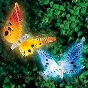 """Гирлянда """"Бабочки"""" на солнечных батареях фото"""