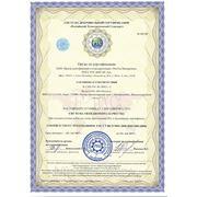 Сертификат ИСО 14001 фото