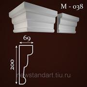 Молдинг фасадный М-038 фото