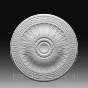 Лепнина из полиуретана. лепной декор Европласт. Розетка 1.56.019 фото