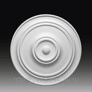 Лепнина из полиуретана. лепной декор Европласт. Розетка 1.56.015 фото