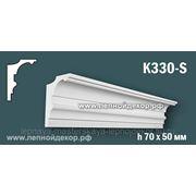 Гипсовый карниз для скрытого освещения K330-S фото
