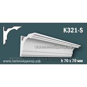 Гипсовый карниз для скрытого освещения K321-S фото