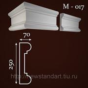 Молдинг фасадный М-017 фото