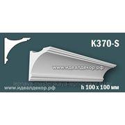 Гипсовый карниз для скрытого освещения K370-S фото