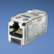 Экранированная розетка RJ45 кат 6A — Модуль RJ45 TX6 10Gig, T568A&B, Panduit фото