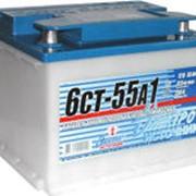 Батарея аккумуляторная свинцовая стартерная 6СТ-55А1 фото