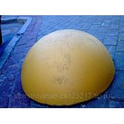 Полусферы бетонные ограждающие фото