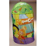 Фиксики. корзина для игрушек 40*68см, в сумке (825607) фото