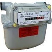 Счетчик газа бытовой СГБ G1.6 для плиты фото