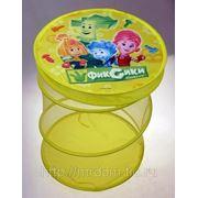 Фиксики. корзина для игрушек 40*50см, в пакете тм фиксики (828097) фото