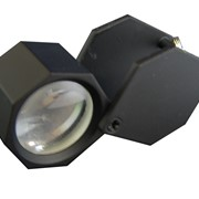 Лупа вороненая 10х, 18 мм (шестигр.), арт 171А фото