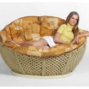 Кресло сизалевое Фантазия фото