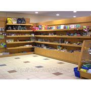 Мебель для магазина канцелярских товаров фото