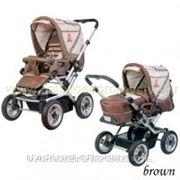 Универсальная коляска Baby Care Manhattan Air Brown фото