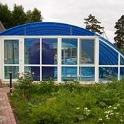 Павильон для бассейна продажа (Навес)Чехия. поликарбонат. фото