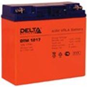 Аккумуляторные батареи Delta-DTM 1217 фото