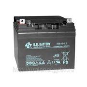 Аккумуляторная батарея BB Battery HR 40-12S 12 В, 40 Ач фото
