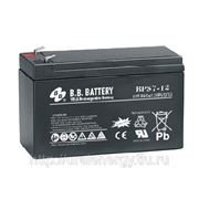 Аккумуляторная батарея BB Battery BPS 7-12 12 В, 7 Ач фото