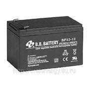 Аккумуляторная батарея BB Battery BP 12-12 12 В, 12 Ач фото