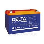 Аккумуляторная батарея Delta GX 100 А/ч гелевая фото