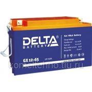 Аккумулятор Delta GX12-65 (12 В, 65 А*ч) фото
