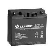 Аккумуляторная батарея BB Battery ВР 20-12 12 В, 20 Ач фото