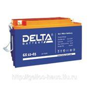 Аккумуляторы Delta GX 12-65 фото